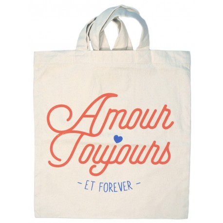 """Tote-bag """"Amour toujours"""""""