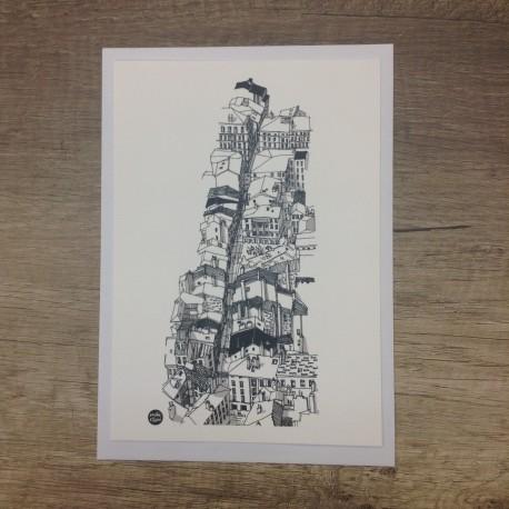 Carte postale Montée de la Grande Côte