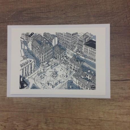 Carte postale Place Sathonay