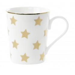 Tasse étoiles dorées