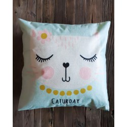 Coussin Caturday