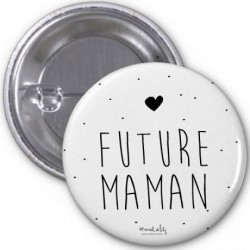 Badge Future maman