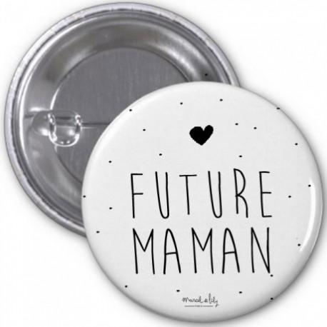 Badge Future maman