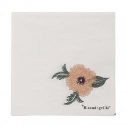Serviettes en papier Fleur