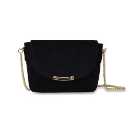 Sac mini Ninon velours Black