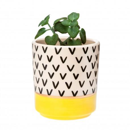 Mini pot Pop - jaune