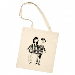 Tote-bag Happy together
