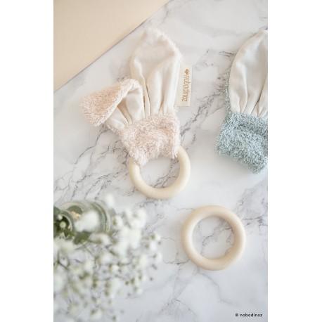 Anneau de dentition bunny - rose