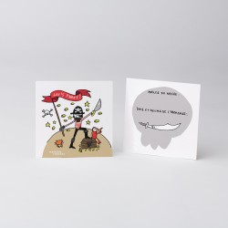 Invitations Pirates