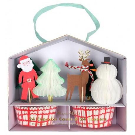 Kit à cupcakes Noël