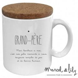 Mug avec couvercle Grand-père