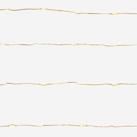 guirlande lumineuse doré