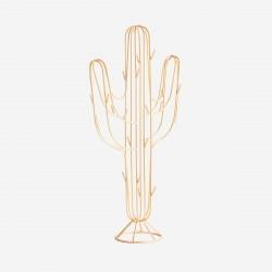 Porte-bijoux Cactus en métal doré