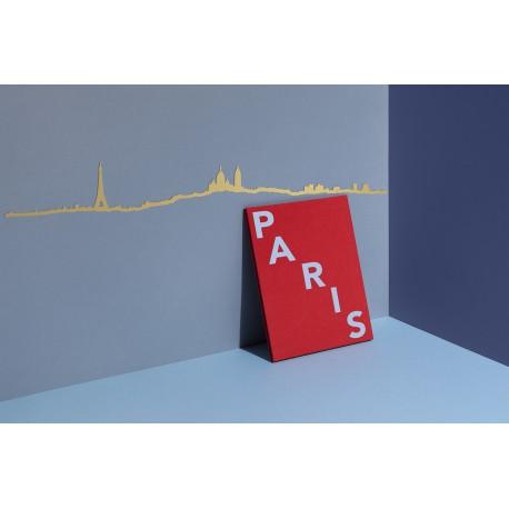 Silhouette de Paris - doré