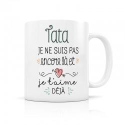 "Mug d'annonce ""Tata"""