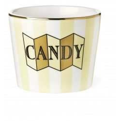 "Pot ""Candy"" jaune"