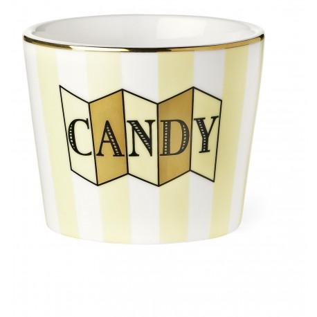 """Pot """"Candy"""" jaune"""